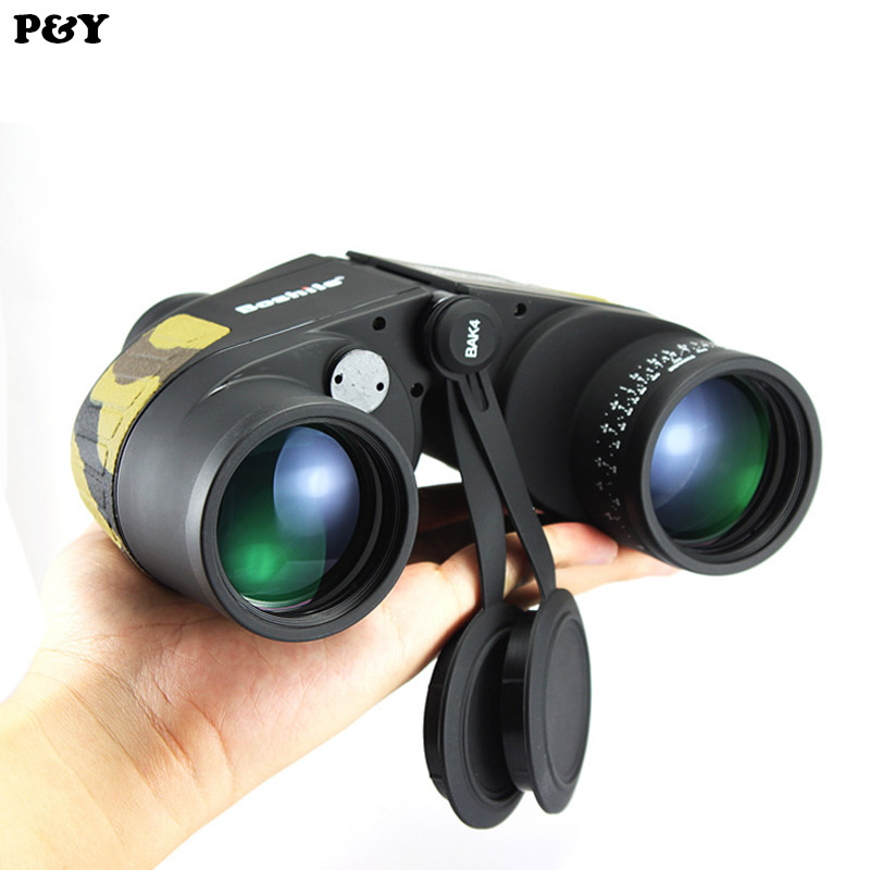 Original Binoculars 10x50 High power HD Waterproof Military Telescope for Hunting Outdoor Spotting Scope No Tripod original binoculars 10x42 high power hd optical lenses mc green film military telescope for hunting outdoor spotting scope
