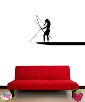 Wall Sticker Hunter Archer Hunting Cool Decor for Man