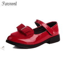 children single shoes new bow shoes girls big virgin princess shoes fashion children shoes casual