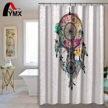Polyester Waterproof Shower Curtain Bathroom Hotel Fabric Hooks Home Decorative Accessories