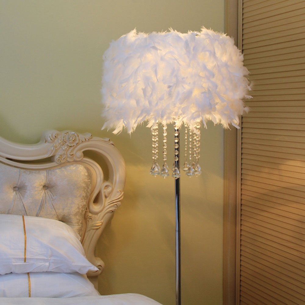 popular crystal floor lamps buy cheap crystal floor lamps. Black Bedroom Furniture Sets. Home Design Ideas
