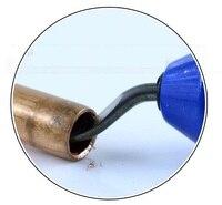 1 pc deburrer handy balde pode ser girada para tubo de cobre Pen-tipo raspador alargador