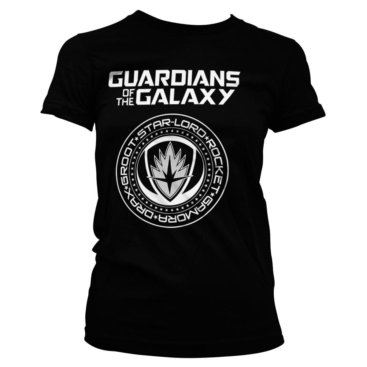 Guardians of The Galaxy Shield Women T-Shirt S-XL Sizes High Quality 100 % Cotton 2018 Brand Clothing Harajuku T Shirt