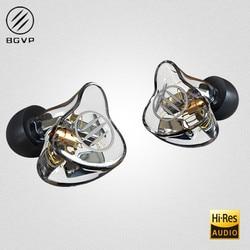 BGVP DM7 6 Balanced Armature In-Ear Earphone High Fidelity HiFi Monitor With Detachable MMCX Cable DMG DM6 DMS AS16 AS12 T2 DS3