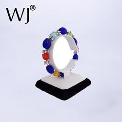 Ювелирные изделия стенд держатель браслет ножной браслет часы Дисплей Регулируемый C стойки Организатор choorian Чиан показал случае в белом
