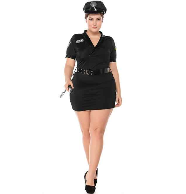 1822a33b2a8 Sexy Police Costume Women Cosplay Police woman Uniform Officer Cop Outfits  Halloween Carnival Costumes Fancy Dress