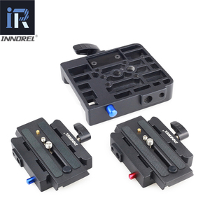 Image 1 - INNOREL P200 Verbeterde Aluminium Legering Quick Release Clamp Kit QR Plaat Adapter Voor Manfrotto 501 500AH 701HDV 503HDV Q5 etc