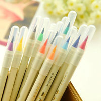 20 color set calligraphy pen soft brush mark watercolor pen graffiti cartoon painting