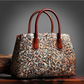 Famous brand top quality dermis women bag  High-end design shoulders Messenger bag Exquisite ethnic style retro handbag
