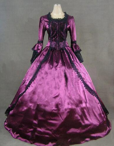 2015 Brand New Ladies 18th Century Marie Antoinette Masked Ball Gown,Victorian Medieval Renaissance civil war era ball gown