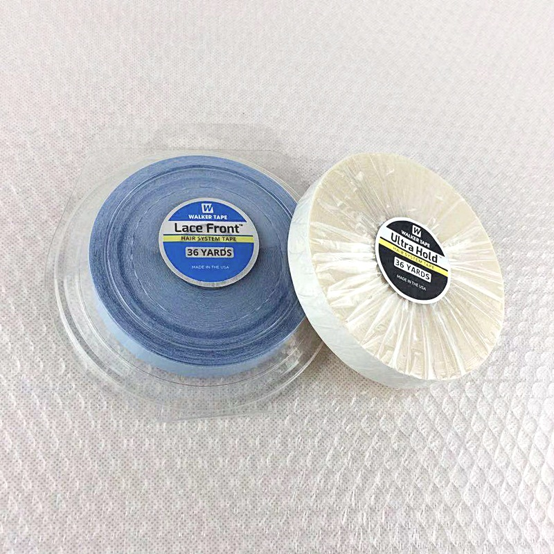 Hair System Tape Roll Double Sided Adhesives Glue Tape For Hair Extensions Tape 1Pc 36/12 Yards 2cm width lace front glue