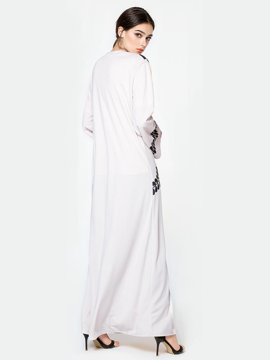 Abaya Cardigan Print Robe 1