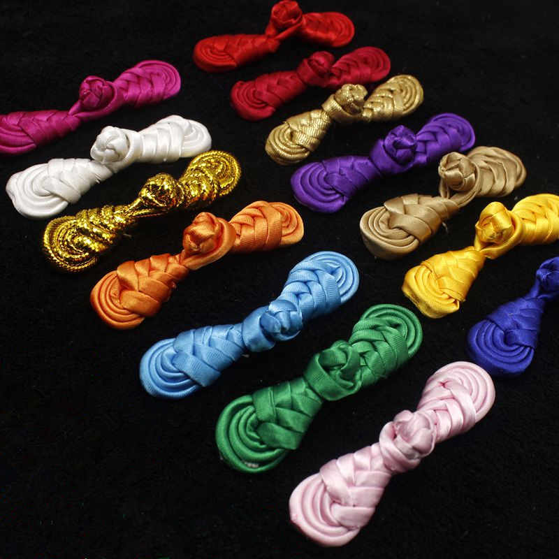 3e5473d2b20 10PCS high-grade Chinese frog buttons 7CM handmade buttons CHINESE KNOT  BUTTONS chinese wind invitations costume