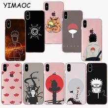 Naruto Uchiha Sasuke Soft TPU Silicone Case for iPhone