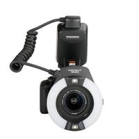 Yongnuo YN24EX E TTL Twin Lite Macro Flash Speedlite for Canon Cameras with Dual 2pcs Flash Head + 4pcs Adapter Rings