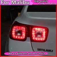 Car Styling for Chevrolet Malibu Tail Lights 2011 2012 2013 2014 Malibu LED Tail Light Rear Lamp DRL+Brake+Park+Signal