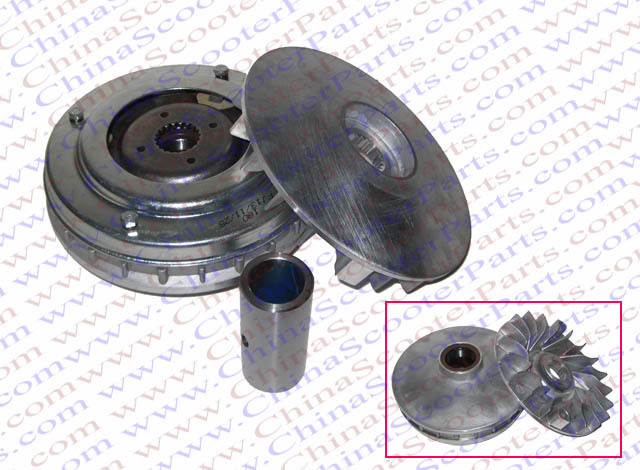 132MM 18T Variator Kit Xingyue Linhai Buyang YP VOG 250 257 260 300 DE250 JCL 250 Znen 169MM 170MM 173MM ATV Buggy Scooter Parts motorcycle cylinder kit 250cc engine for yamaha majesty yp250 yp 250 170mm vog 257 260 eco power aeolus gsmoon xy260t atv page 2