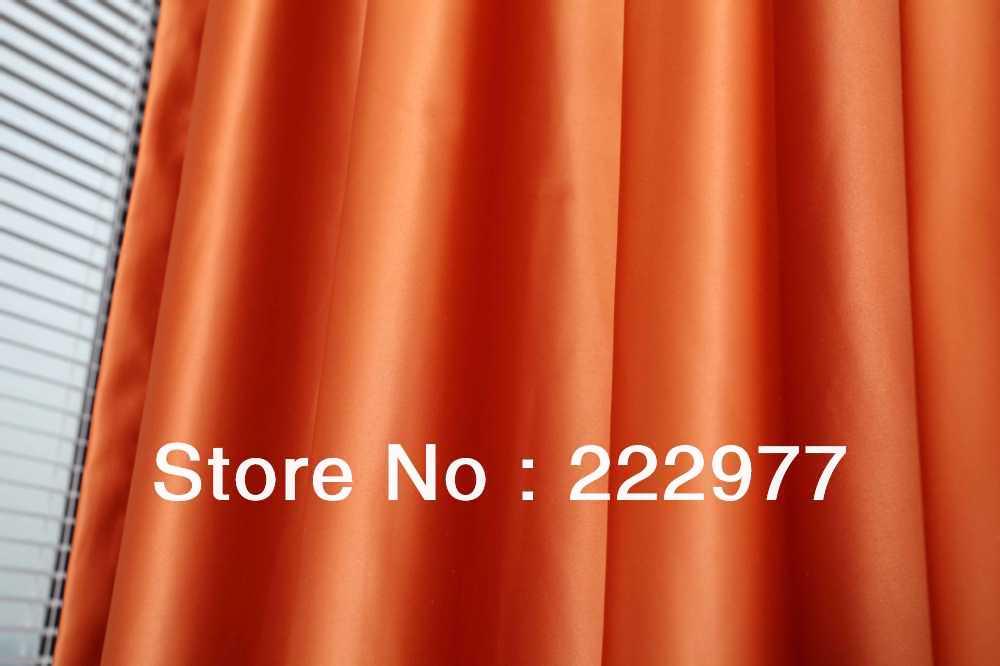 gratis verzending 100 polyester hoge precisie gordijnoranjekant en klare gordijnwoonkamer raam gordijn in gratis verzending 100 polyester hoge precisie