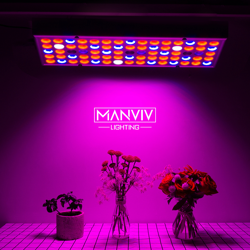 25W LED Grow Light 380-780nm Full Spectrum 85-265V Plant Grow Light 75leds UV IR Lamps Panel For Greenhouse Plants Indoor Growth