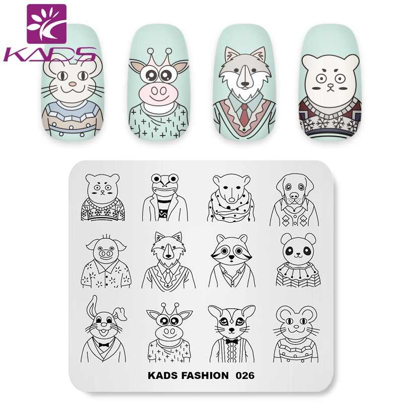Detail Feedback Questions About Kads Nail Art Template Fashion 026