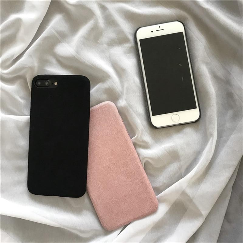 LUDI շքեղ Nubuck Suede կաշվե տուփ iphone 5 / 5s / SE / 6 - Բջջային հեռախոսի պարագաներ և պահեստամասեր - Լուսանկար 2