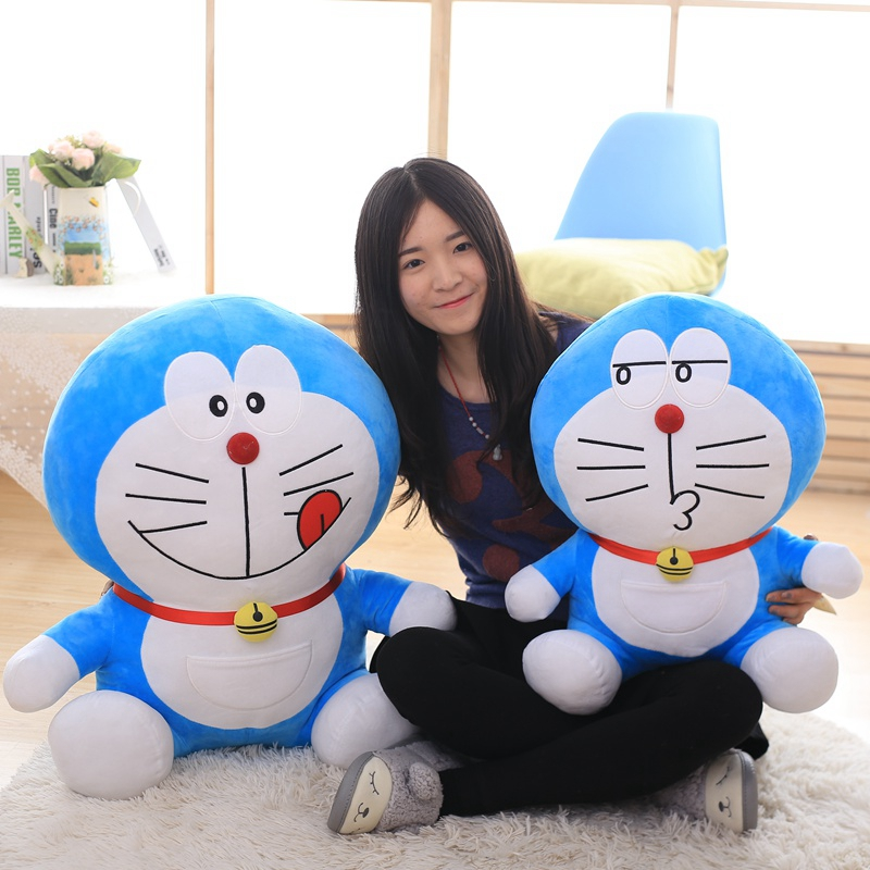 40cm Stand By Me Doraemon Plush toy doll Cat Kids Gift Baby Toy Kawaii plush Anime Plush Kids toys gift for children sitting height 65cm anime cartoon cute doraemon plush toys japanese anime doraemon cat plush toys children s gift