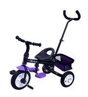 Новые Детские ездить на трехколесный велосипед ребенка велосипед возраст 1–3 года старый тележка ребенок игрушки самостоятельно коляска