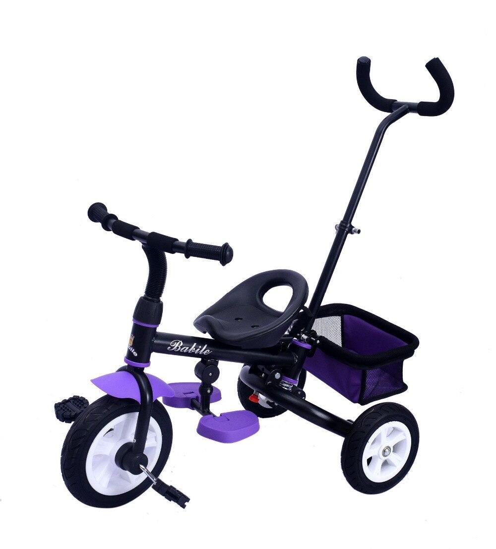 Nouveaux enfants montent sur Tricycle bébé vélo 1-3 ans chariot enfant bébé jouet auto poussette