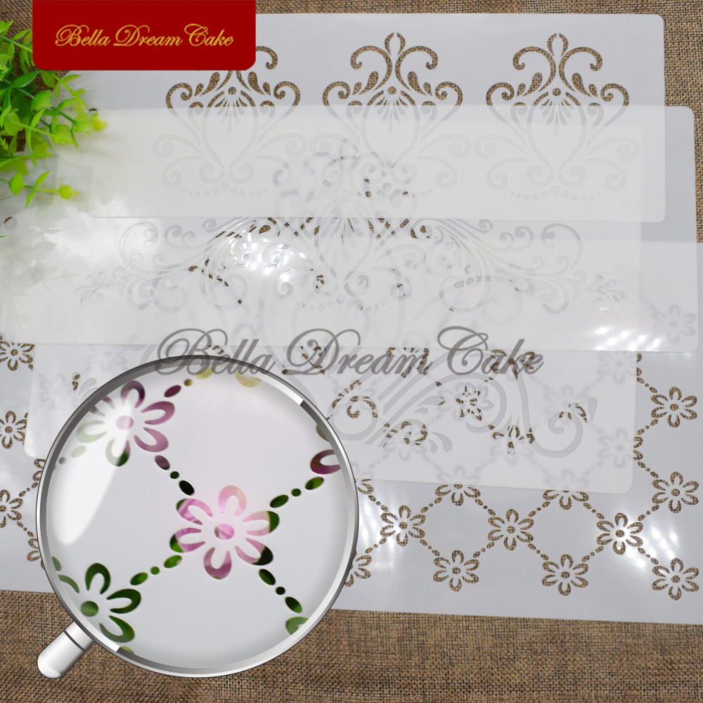 Princess Lace Cake Schablone Set, Cake Craft Schablonen, Cake Border - Küche, Essen und Bar - Foto 3