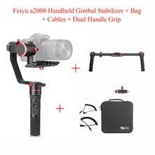 Feiyu a2000 3-Axis Gimbal Stabilizer for Canon 5D Series / SONY A7 Series a6500,for Panasonic GH4/GH5,Feiyu Tech+Dual Handle