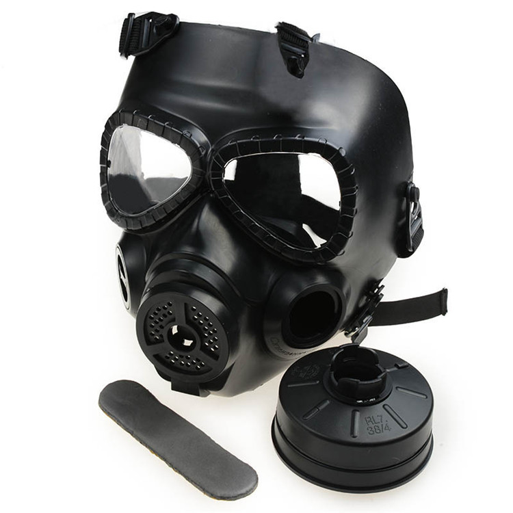 1PC Tactical Plastic Masks Resin With Fan CS Wargame Airsoft Paintball Mask Full Face Gas Mask