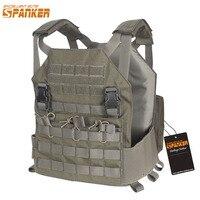 EXCELLENT ELITE SPANKER Outdoor Tactical Molle Vest Plate Carrier Military Army AMP Vest M4 Accessory Suit For Men Hunting Vests