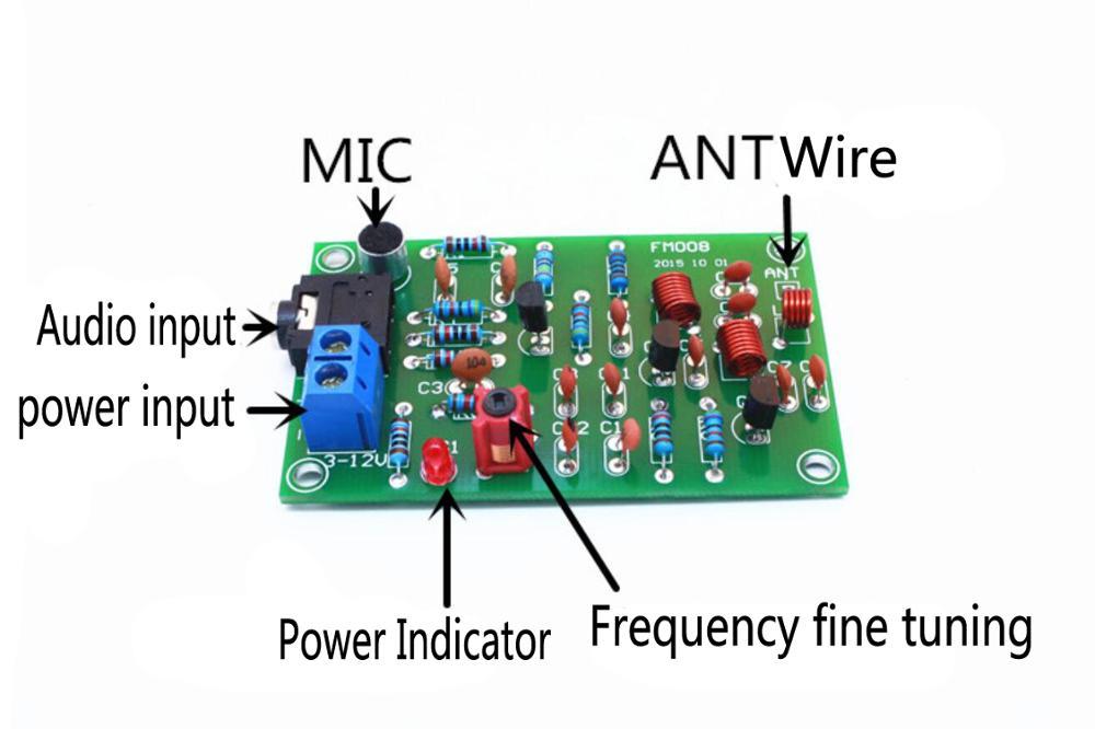 White Noise Signal Generator DIY Kit Electronic Kit 2 ...