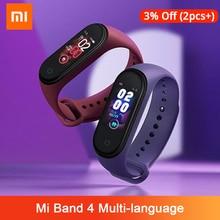 Xiaomi Mi Band 4 Original Music Smart Miband 4 Bracelet Heart Rate Fitness 135mAh Color Screen 50M Waterproof Bluetooth 5.0