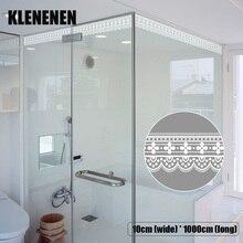 KLG-019 Self-adhesive Wallpaper Decor Wall Sticker Waistline Stickers PVC  Waist Line Bathroom kitchen Tile wallpaper