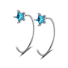 Everoyal 925 Silver Earrings Stars Accessoriess Vogue Jewelry Top Quality Earring Gifts For Female Hot Sale Trendy Birthday Gift