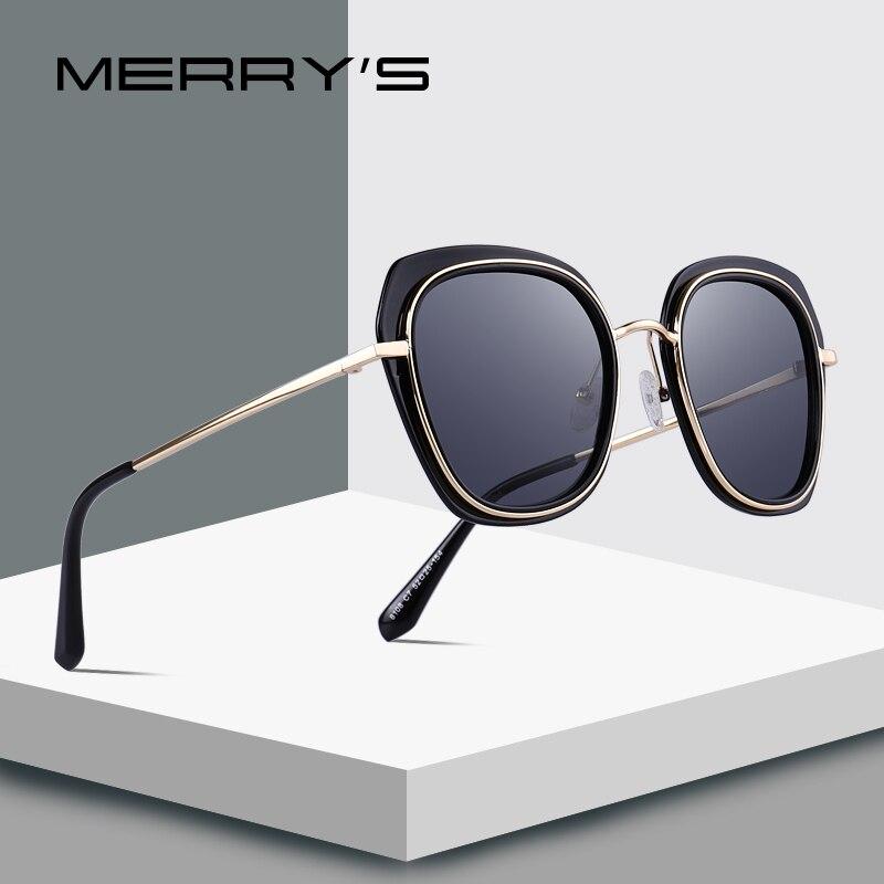 MERRYS DESIGN óculos de Sol Das Mulheres Designer De Marca Senhoras Moda óculos  Polarizados Óculos de b346a954f5