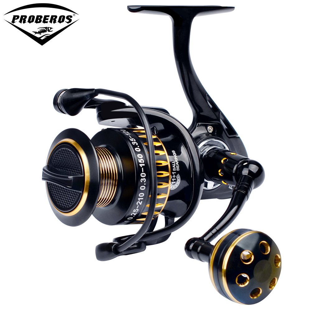 Aluminum Alloy Fishing Reel CNC Processing 3000 Spinning Reel 11 1BB Stainless Steel Bearing weight 312g