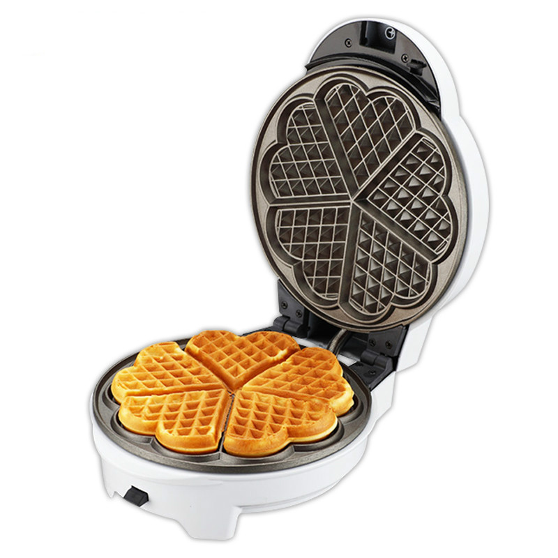 Electric baking pan Household Double-sided heating Waffle maker Pancake pot Egg Electric cake file Cake machine Fully automaticElectric baking pan Household Double-sided heating Waffle maker Pancake pot Egg Electric cake file Cake machine Fully automatic