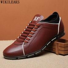 Кожаная обувь, мужские роскошные брендовые кроссовки, повседневная обувь, мужские дизайнерские кроссовки для мужчин размера плюс, мужские кроссовки для тенниса
