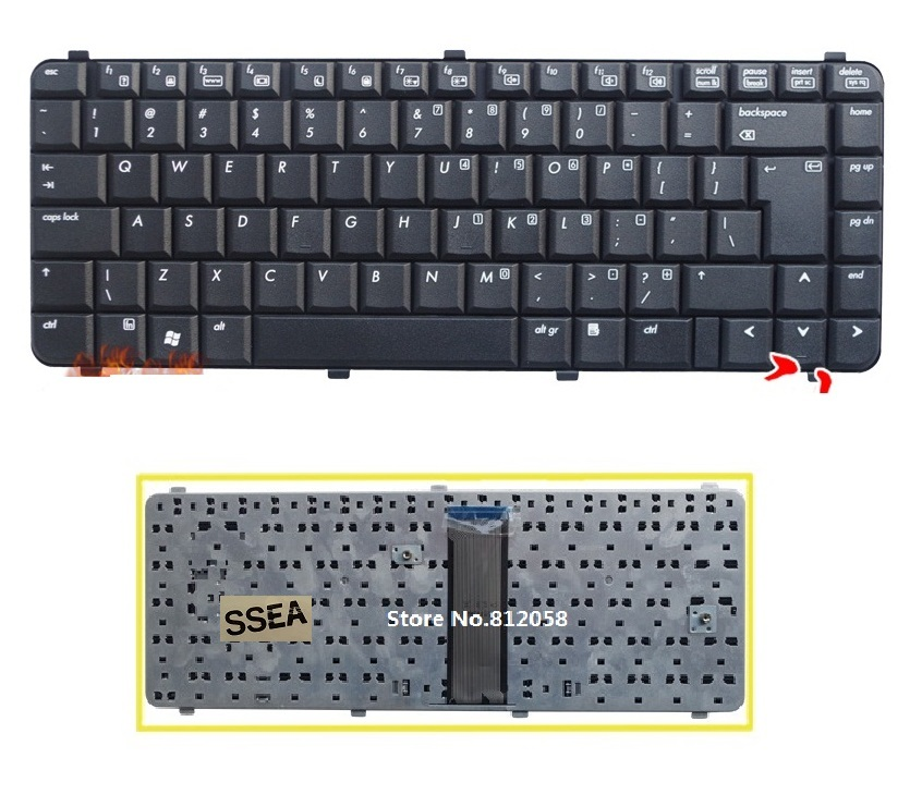 For HP Pavilion  g7-2000 g7-2100 g7-2200 g7-2300 Keyboard French Clavier Frame