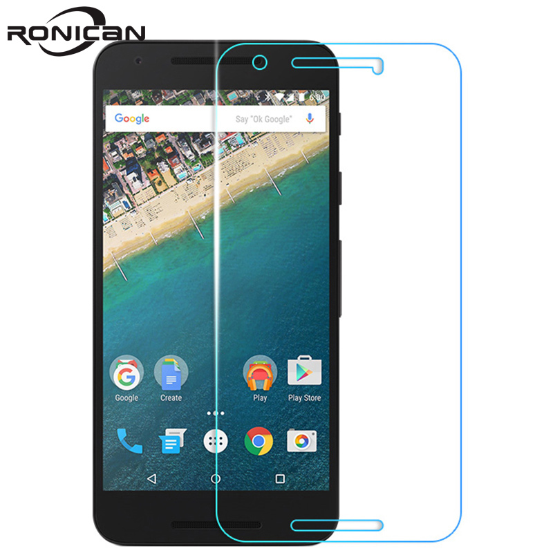 RONICAN Screen Protector For Google Pixel XL 9H Hardness Anti-Scratch Tempered Glass Film On Google Nexus 6 6P 5X 5 4 Pixel 2 XL