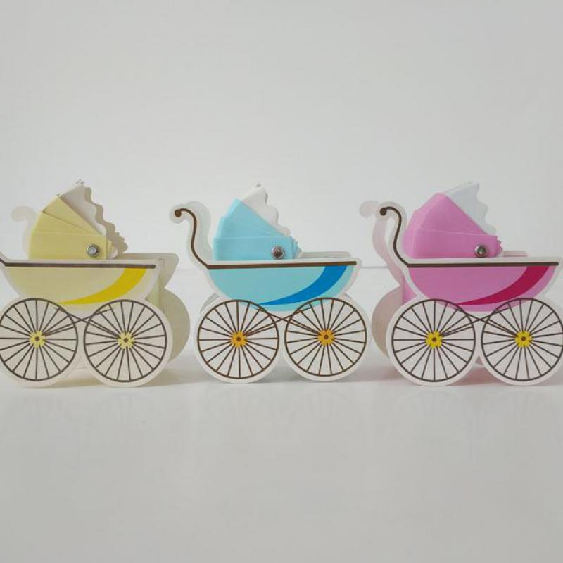 50pcs Baby Cartoon Car Shape Candy Box Baby Shower Favors Box Gift Boxes For Event And Party Stuff Supplies Bapteme Decoration