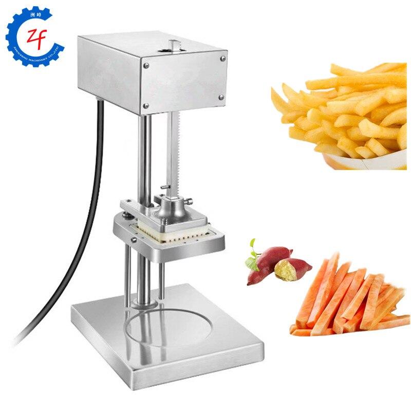 3 lames électrique frite machine de coupe en acier inoxydable coupe pommes de terre chips carotte bande fabricant fruit légume chopper