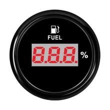 52 мм Цифровой измеритель уровня топлива 240~ 33 Ом индикатор уровня топлива для масляного бака с подсветкой 9~ 32 В для автомобиля лодки морской
