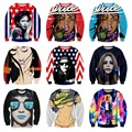 High-quality boy baseball clothing 3D personalized character prints Hip-Hop dress Hooded long-sleeved sweater 11-20 years old