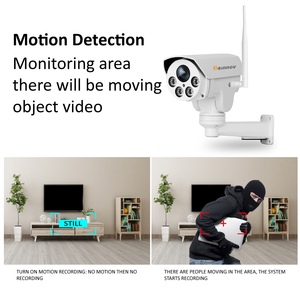 Image 3 - Einnov PTZ IP Camera 4X Zoom 1080P Outdoor Wireless Home Security Camera Wifi Video Surveillance Audio Record Onvif HD IR Wi fi