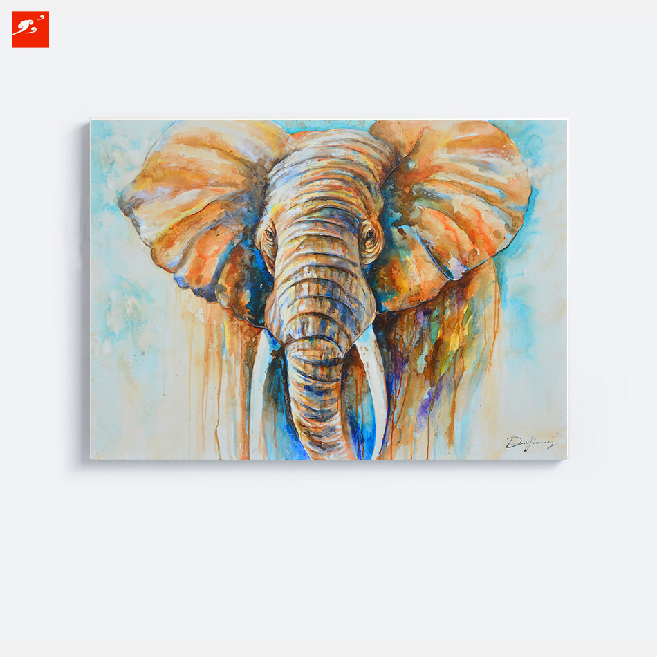 Oil Painting On Bedroom Wall Canvas