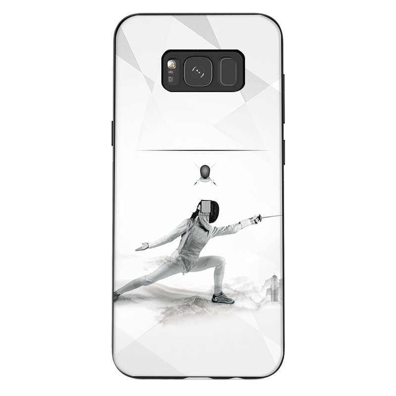 מקרה טלפון נייד עבור סמסונג S10 בתוספת S10E S9 S8 S7 S6 קצה הערה 8 9 M40 M30 M20 M10 כיסוי ספורט גידור מקרה פגז