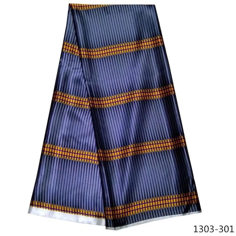 Hot sale beautiful ankara fabric african wax prints 100% silk satin Satin 1303-101